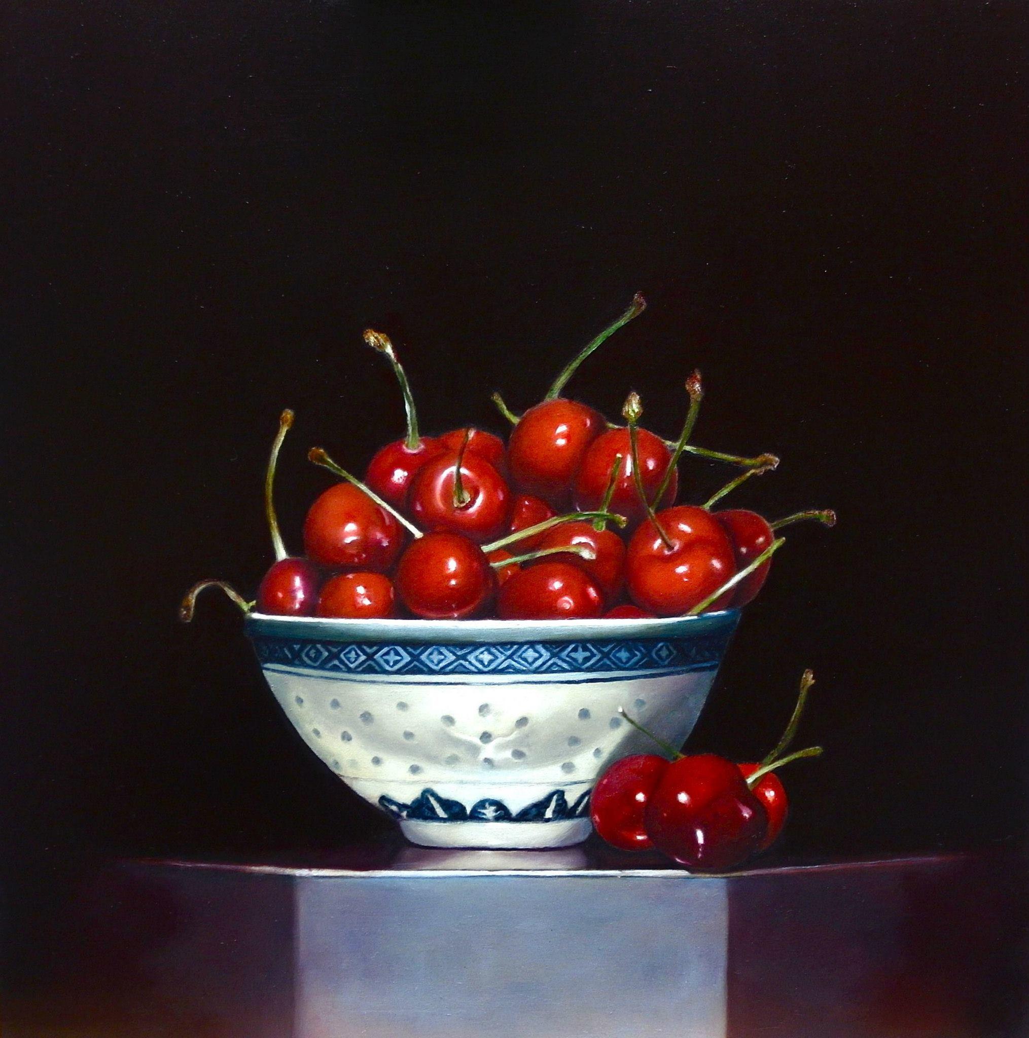 Tineke van Hout. Geschilderd naar foto. Geen eigen compositie.