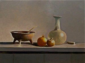 Jack Schoenmakers. Geschilderd naar foto van meester schilder Henk Helmantel.