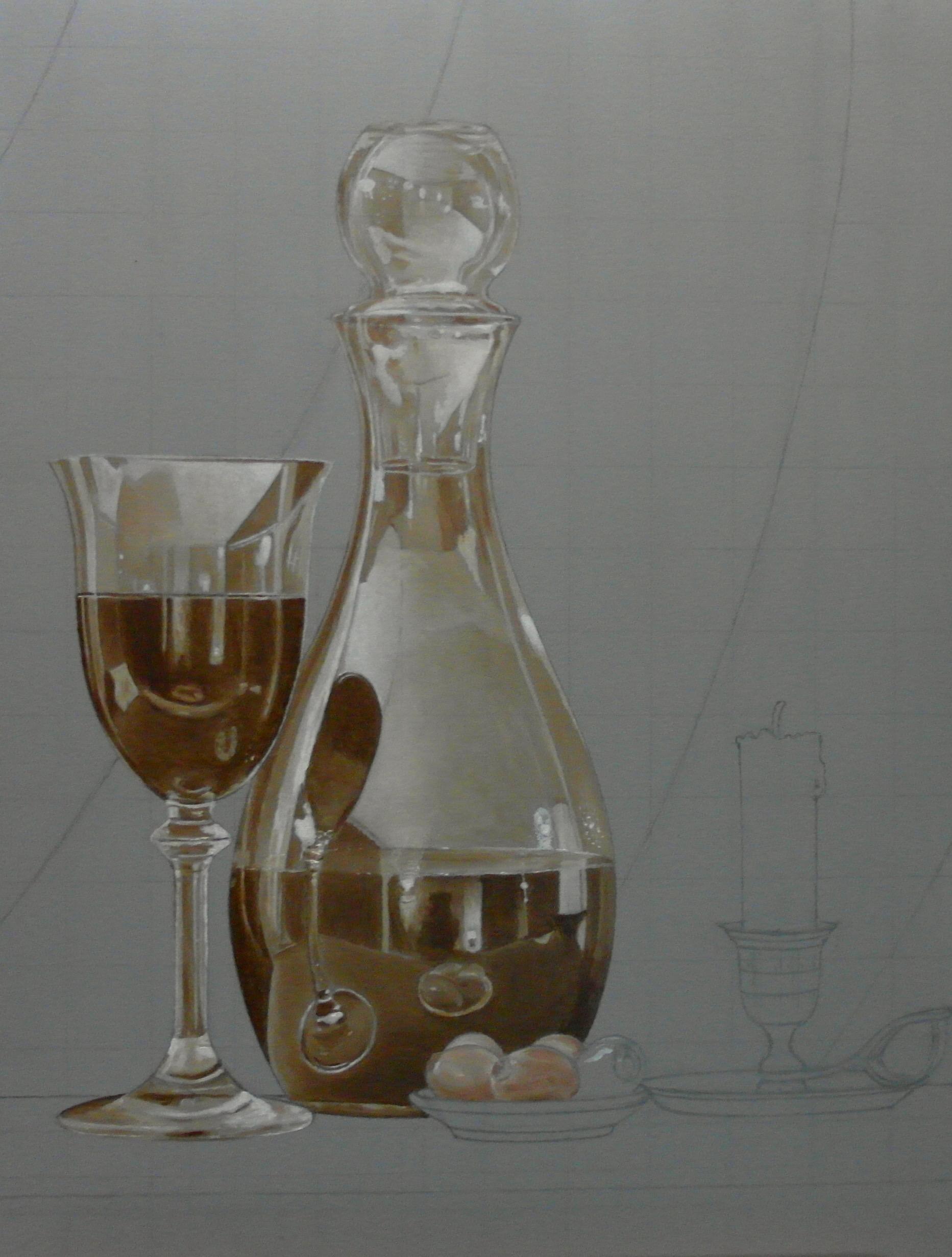 Het glas en al zijn reflecties.