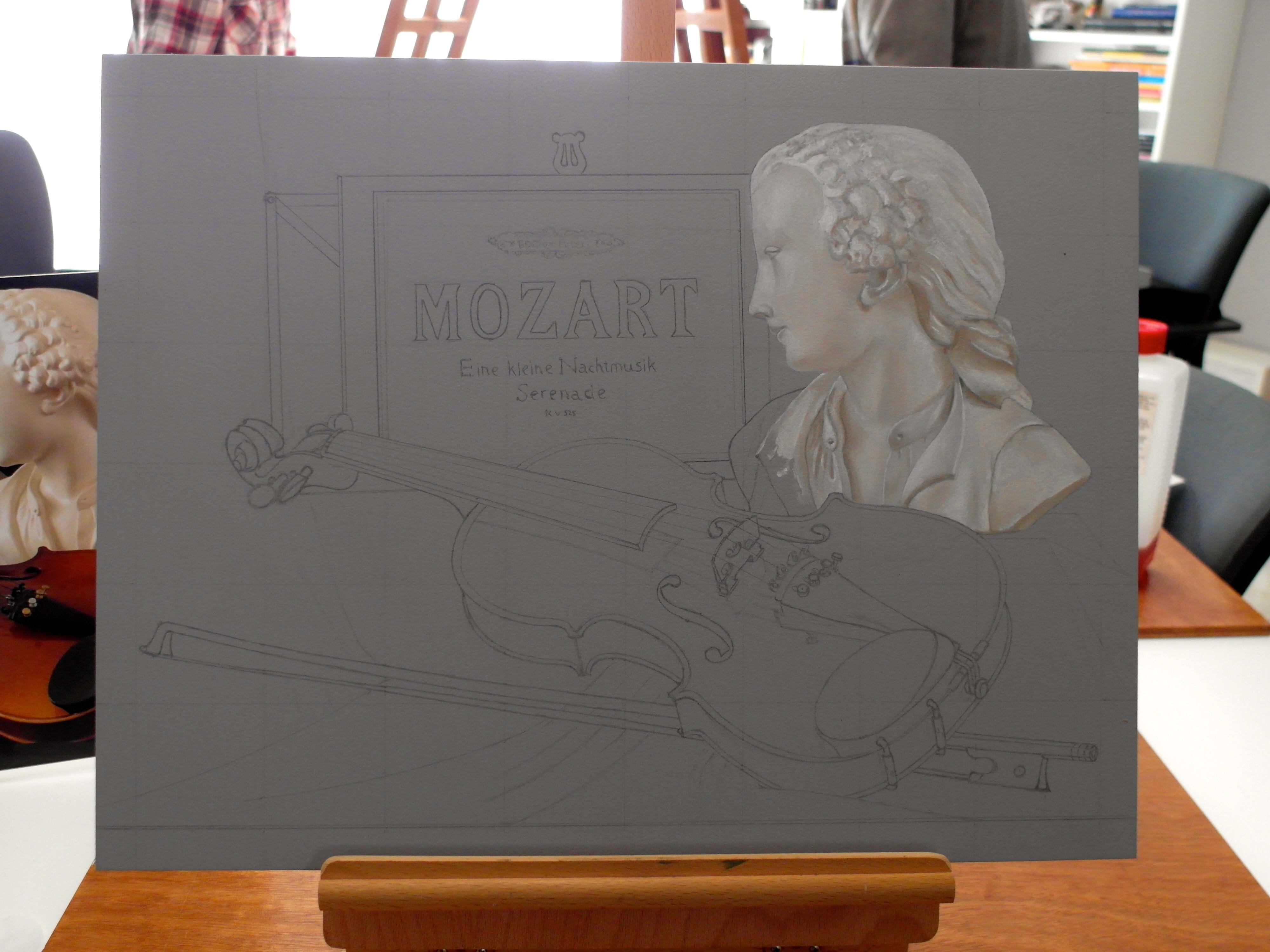 ook in dit werkstuk nummer 3 Ode aan Mozart dezelfde opbouw.