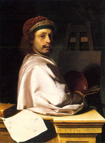 Zelfportret Frans van Mieris
