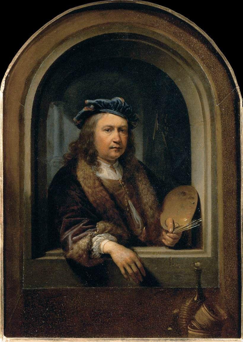 Zelfportret Gerrit Dou