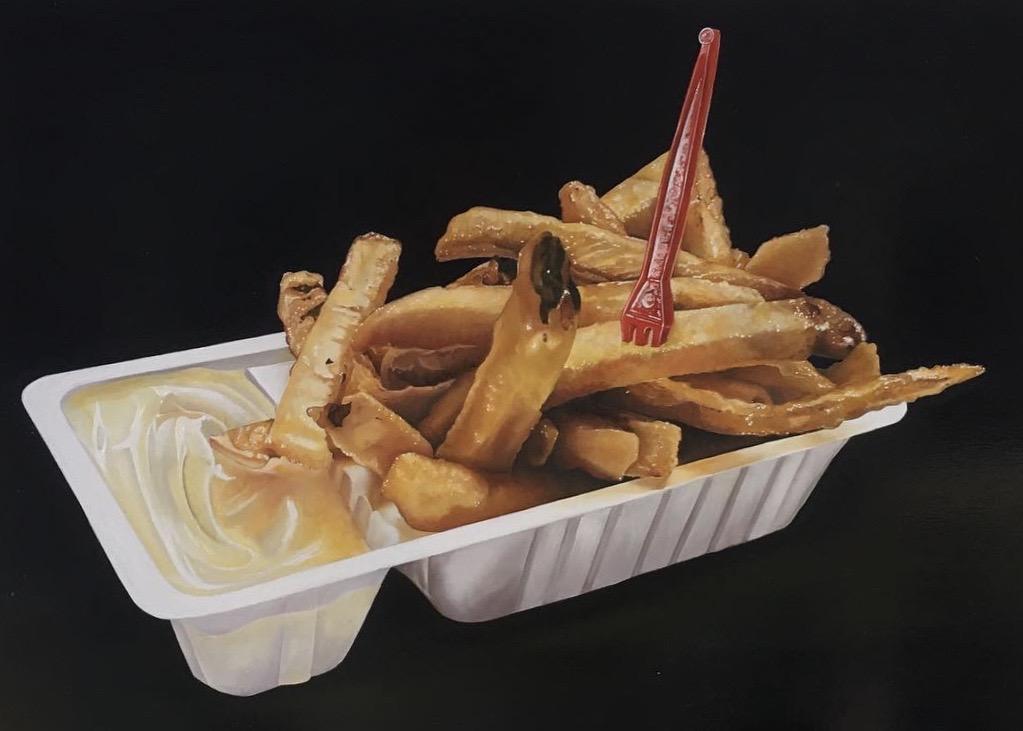 Bakje patat geinspireerd door Tjalf Spaarnaay.