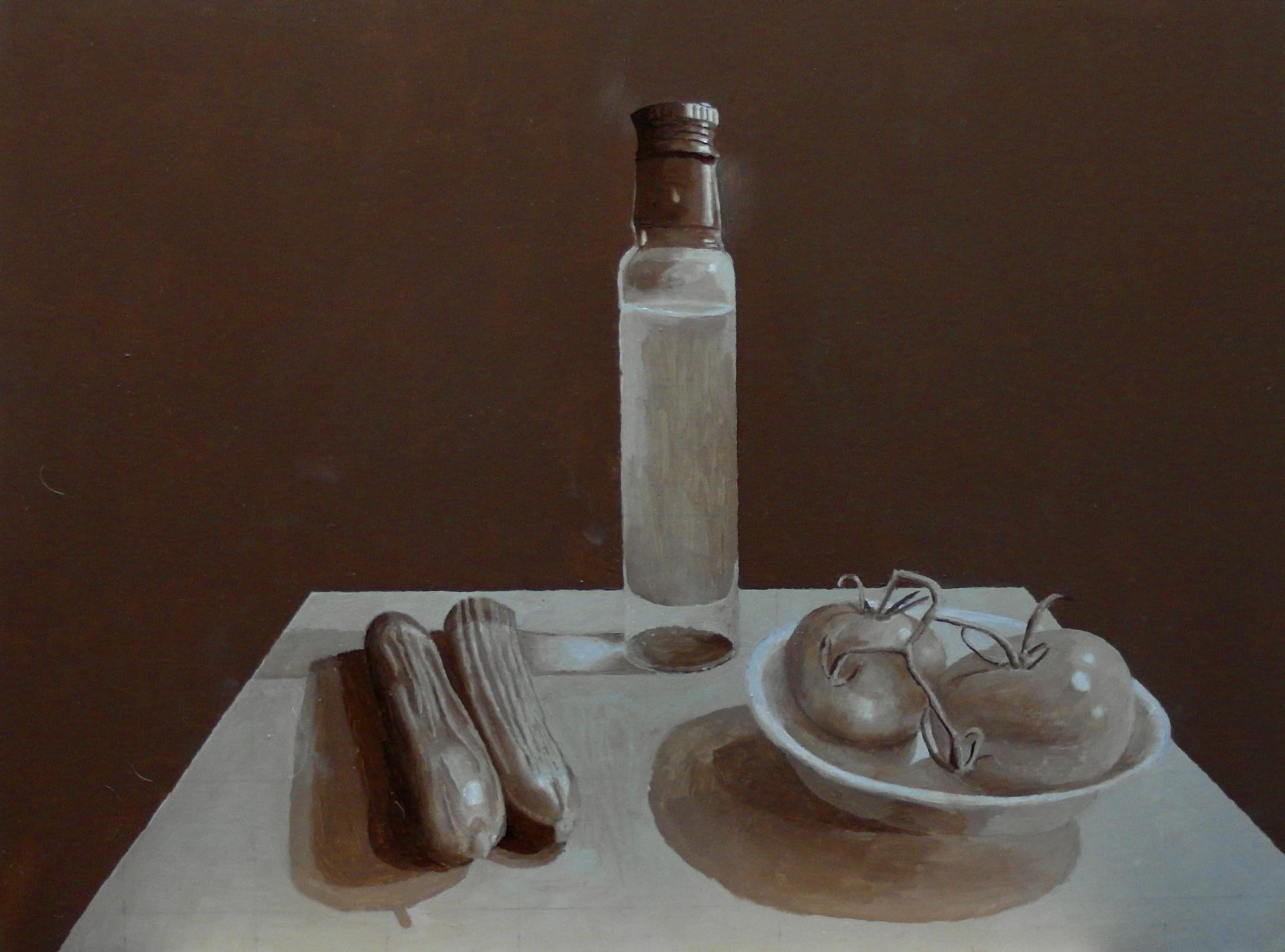 Nico Noort (beginnend fijnschilder)